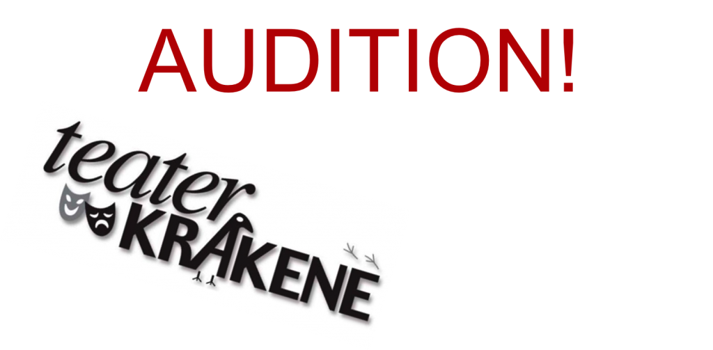 Audition plakat