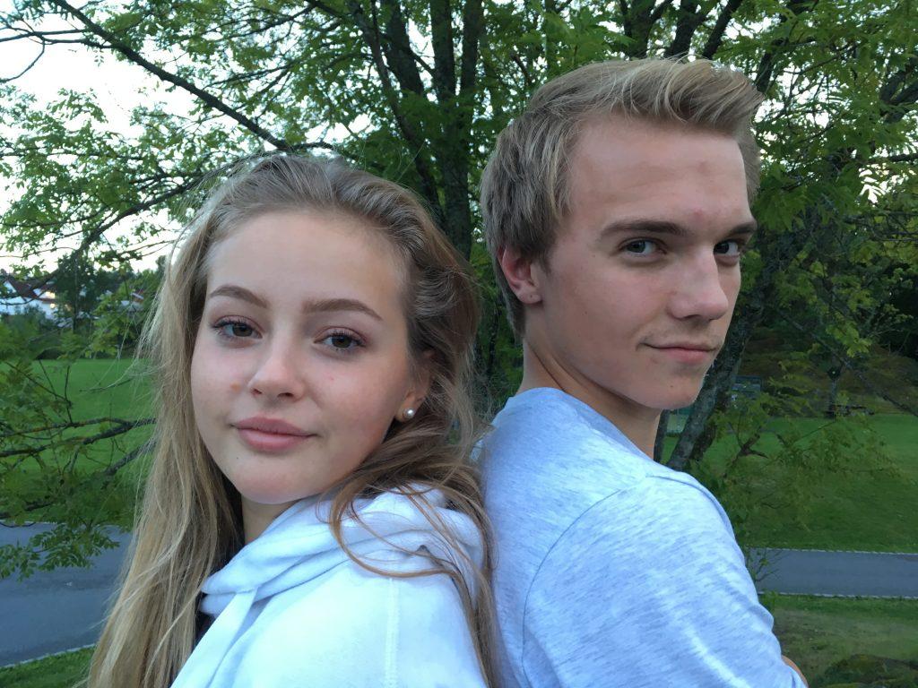 GODT SAMSPILL: Odin Trolltun og Kaia Rytter Tveiten gir liv til Rockeulven og Geita i høstens familiemusikal med Teaterkråkene på Parkteatret.